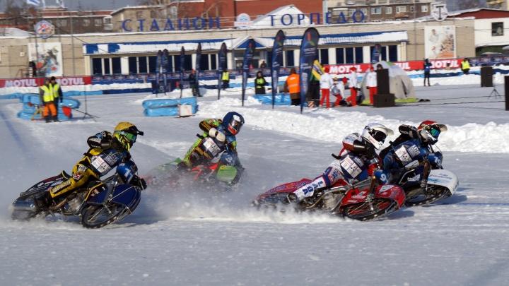 Шадринск примет один из финалов личного чемпионата мира по мотогонкам на льду