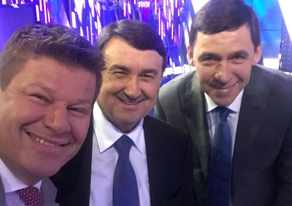 Вопрос Куйвашеву о спортивном комплексе задал Дмитрий Губерниев