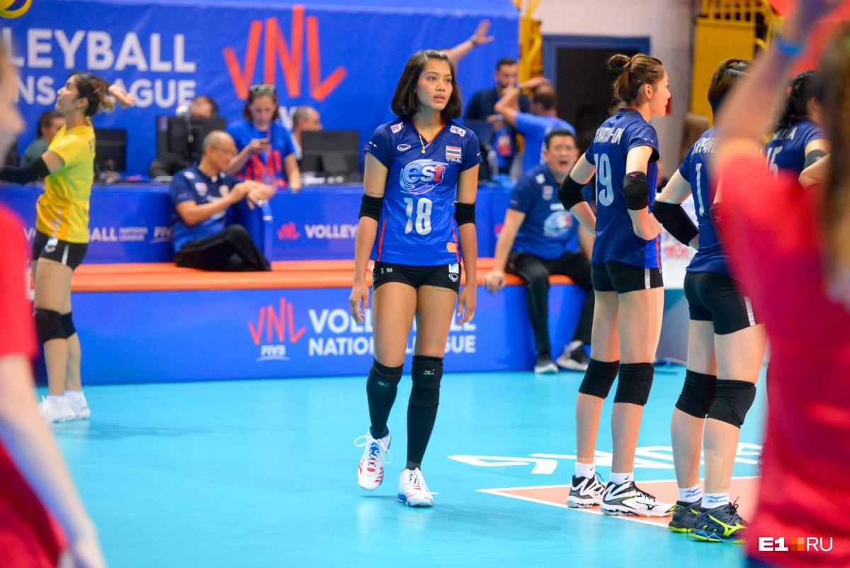 На фото здесь и далее: игра США — Таиланд