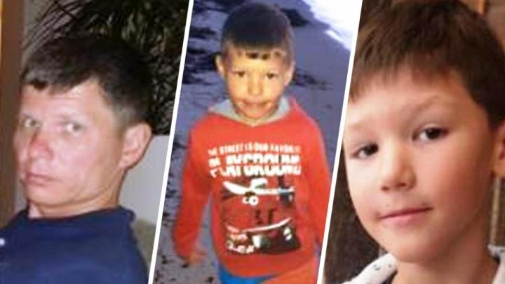 Машину пропавшего с двумя сыновьями отца нашли под Уфой неподалеку от санатория