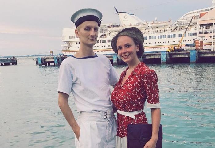 Даша и Илья во время кругосветки снялись в кино