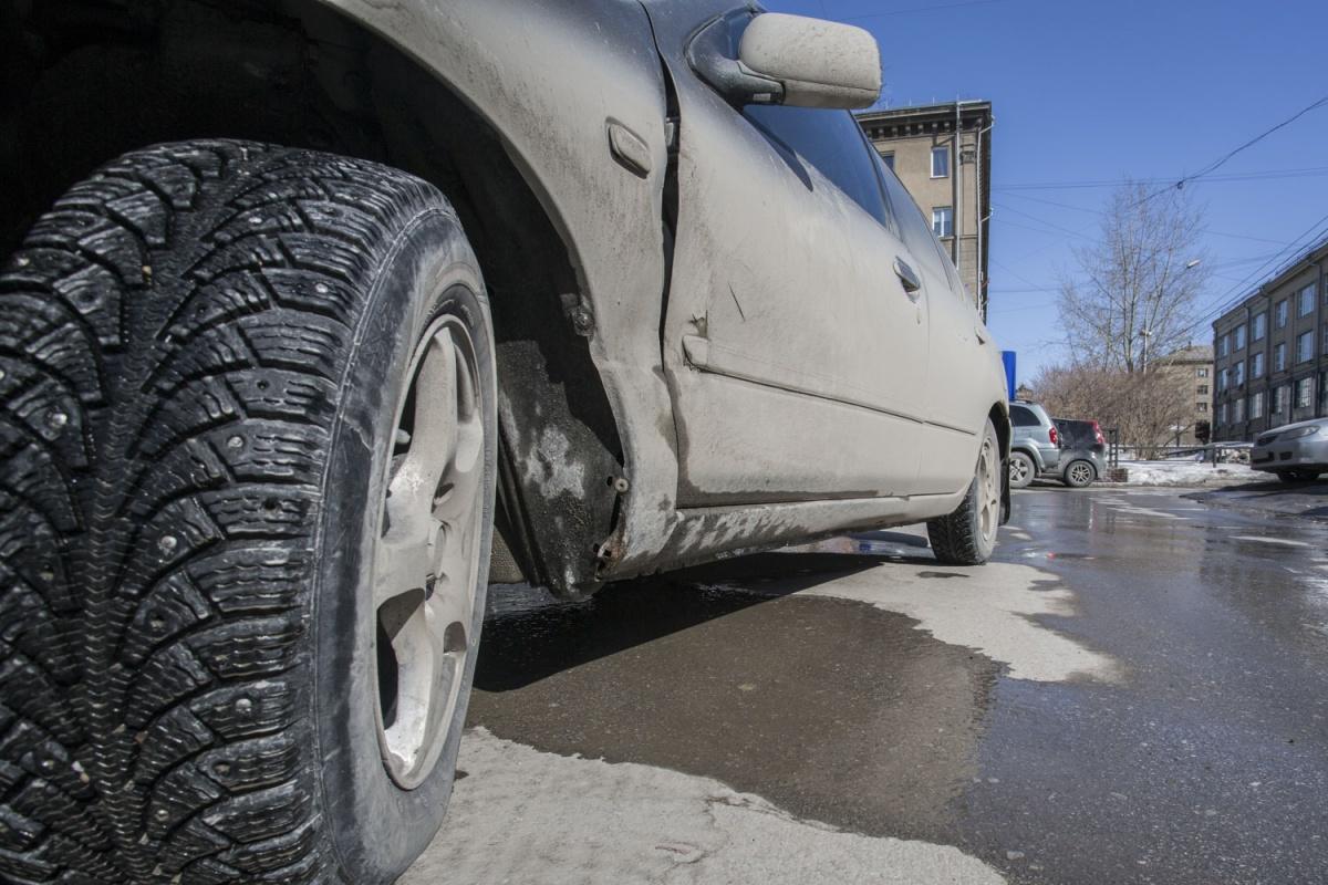 Грязные колёса называли одной из причин пыли в городе