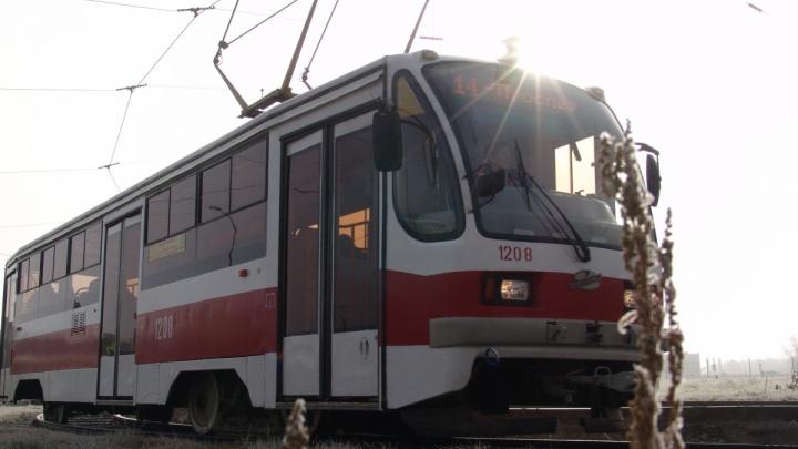 Жители Самары просят изменить график движения трамвая от «Самара Арены»