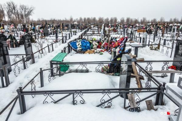 В распоряжении Самары находятся 20 кладбищ