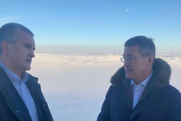 Руководитель Крыма Сергей Аксенов и врио главы РБ договорились оздоровить детей из Сибая