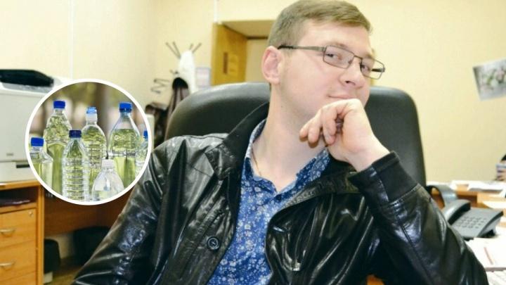 «Заказывают тоннами»: ярославец выставил на продажу заговорённую от коронавируса воду