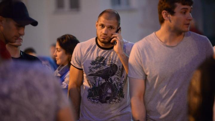 «Не буду извиняться, потому что не за что»: Иван Штырков объяснил, что делал на протесте в сквере