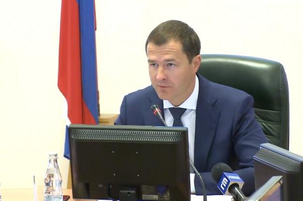 И. о. мэра Владимир Волков будет проводить общегородские совещания по понедельникам