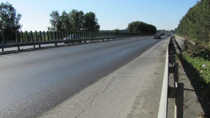 Дорожные рабочие перекроют автомобильный мост на дублёре Сибирского тракта