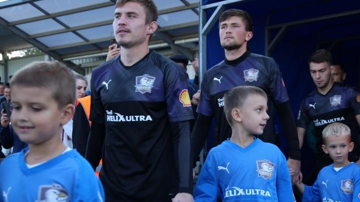 ФК «Чайка» сыграл в Кубке против «Уфы»
