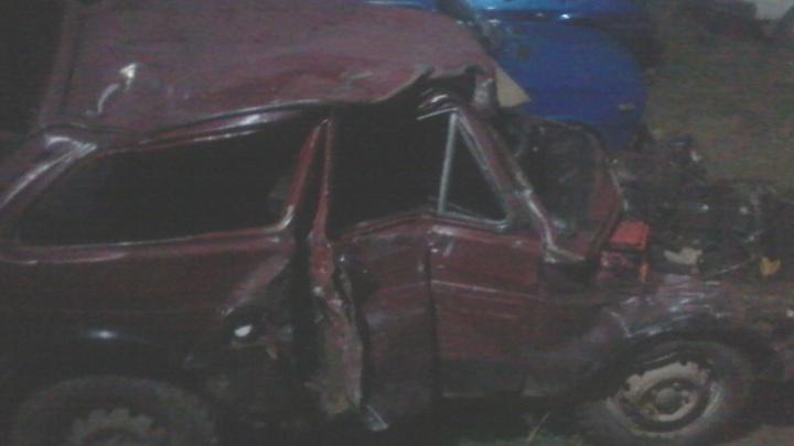 Поезд сбил вылетевшую на пути «Ниву». Водитель без прав погубил себя и пассажира