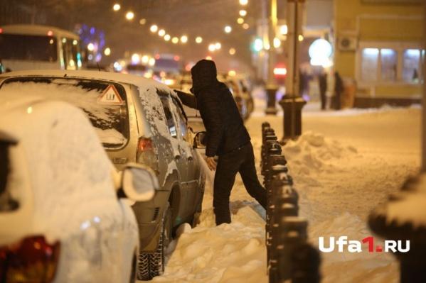 Снег и морозы ожидают жителей Башкирии