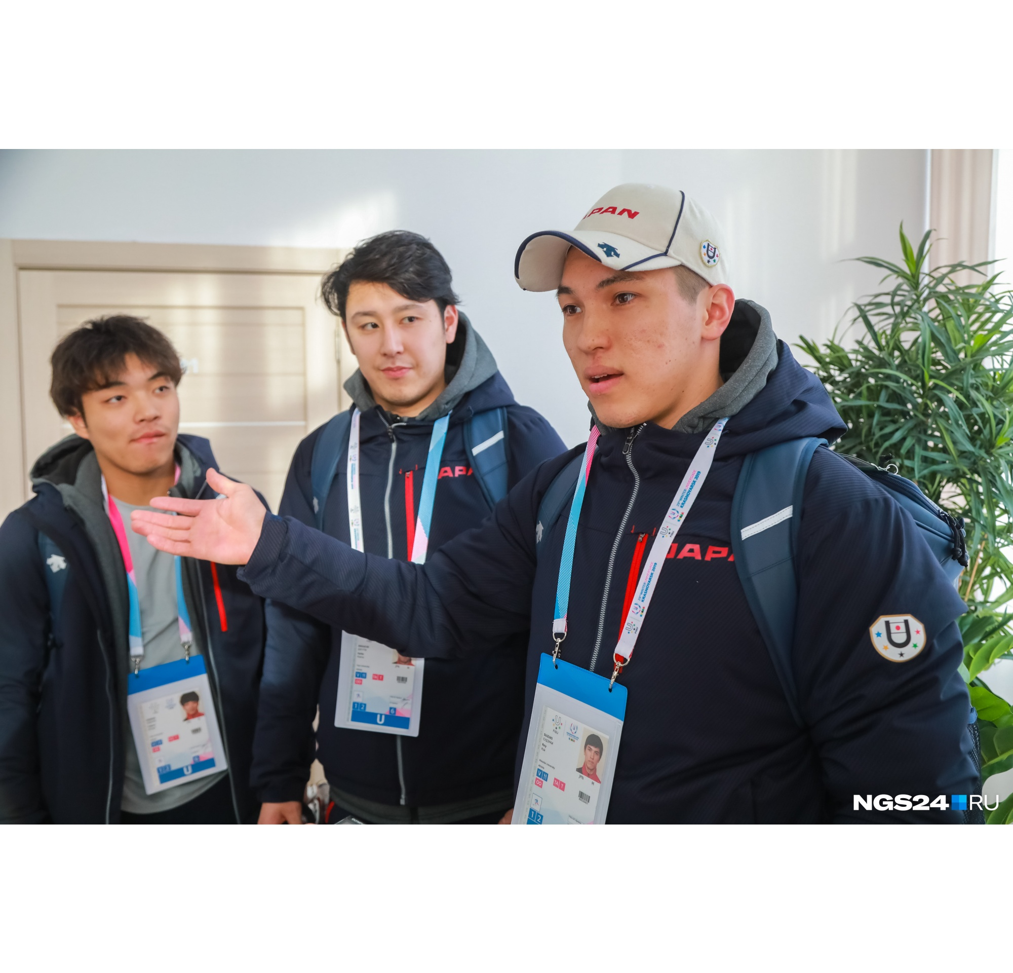 Спортсмены из Японии