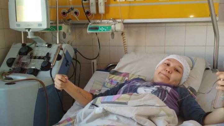 «Здоровая девочка сгорела за два месяца»: 15-летняя уфимка борется со страшным заболеванием