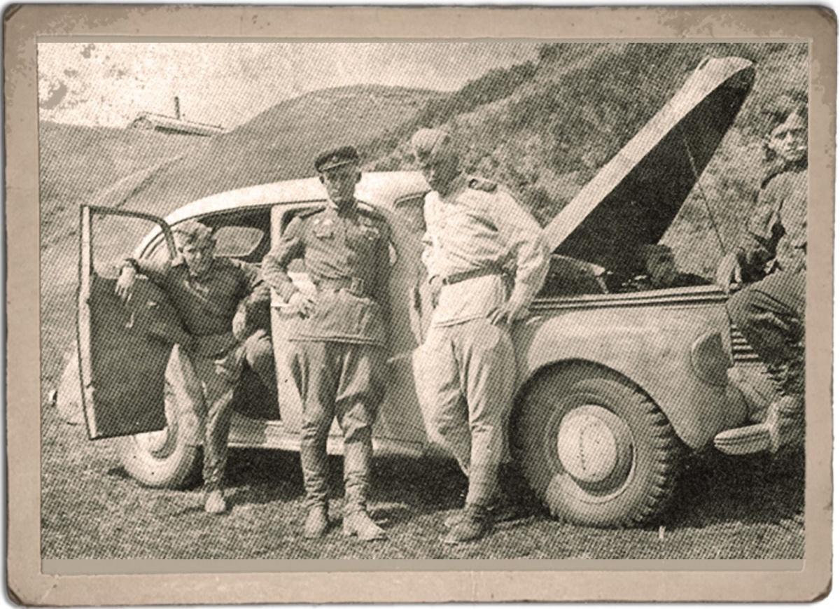 На историческом фото изображен Opel