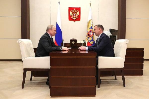 Владимир Путин считает зарплаты в Курганской области крайне низкими