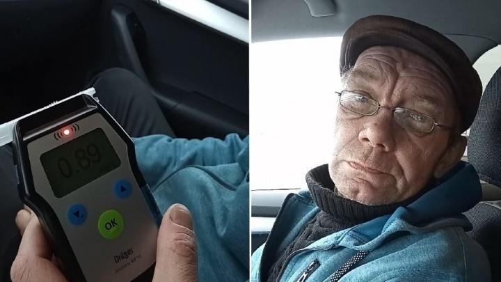 Один — на охоту, другой — за сигаретами. Топ-6 отмазок и фото тюменцев, которых поймали пьяными за рулем