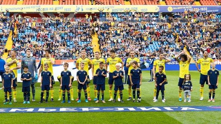 Еще четырех футболистов «Ростова» вызвали в национальные сборные своих стран