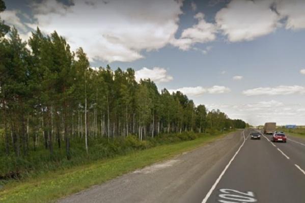 Авария произошла под Киево после поста ДПС