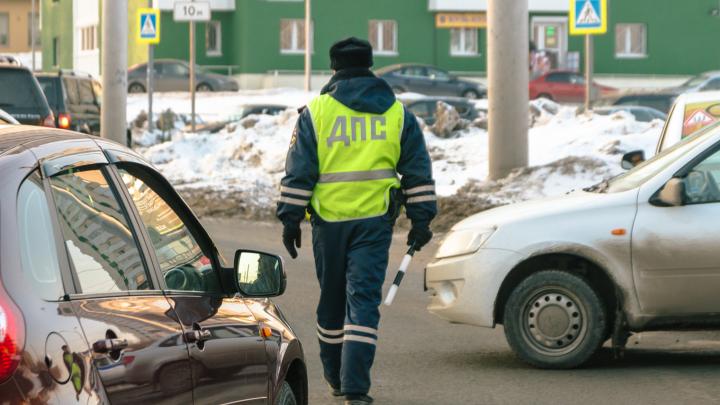 В Самарской области поймали угонщика машины с ребенком внутри
