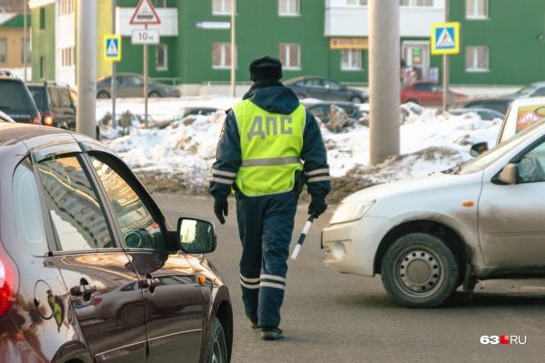 Полиция объявляла план-перехват для поиска авто