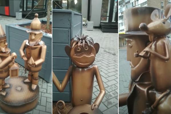 Горожане заметили скульптуры 12 июня
