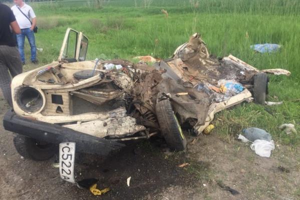 В массовой аварии в Аксайском районе погибли пять человек