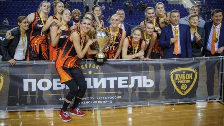 Баскетболистки УГМК в невероятном матче с курским «Динамо» завоевали кубок России