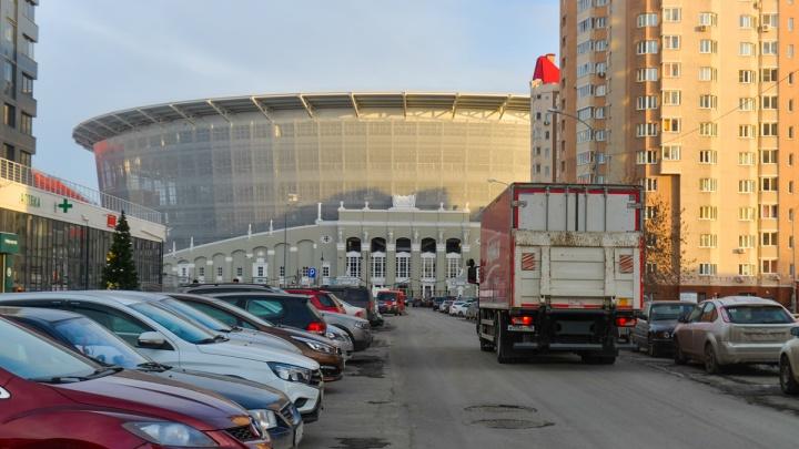 Улицы Пирогова и Ключевскую у Центрального стадиона закрыли для транспорта