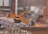 Экскаватор «откусывает» последний пристрой: началась реконструкция Симановской мельницы