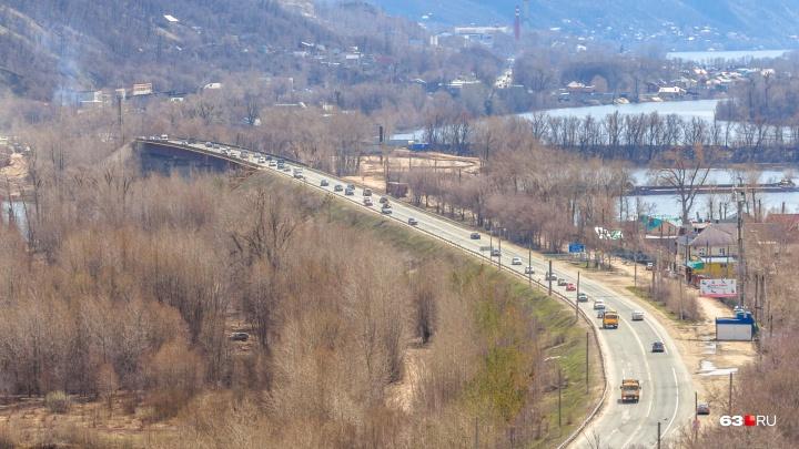 Стало известно, сколько полос движения сделают на новом мосту через реку Сок