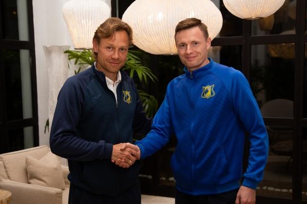 Евгений Чернов подписал контракт с ростовским клубом