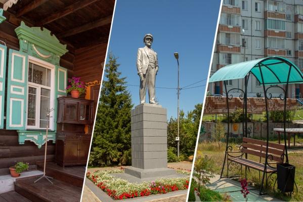 Енисейск — маленький городок, где сегодня живет 18 тысяч человек