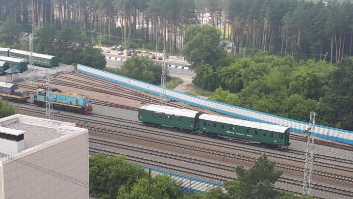 Новосибирский ретропоезд угнали в Алтайский край