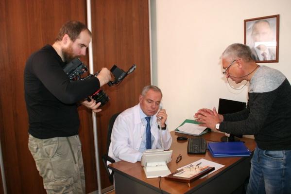 Съемки фильма проводились в Красноярске
