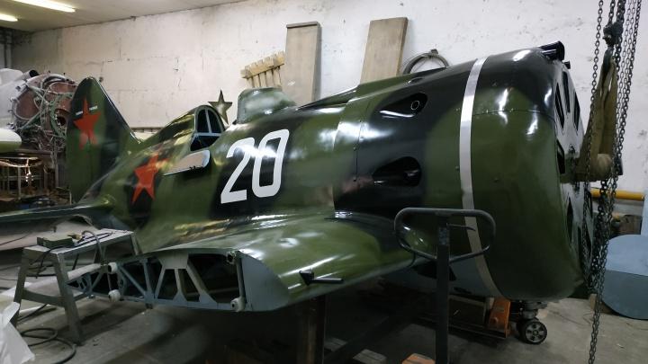 В Новосибирске восстановили сбитый истребитель времён Великой Отечественной войны