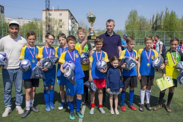 Победители турнира отправятся в Москву на большой футбол