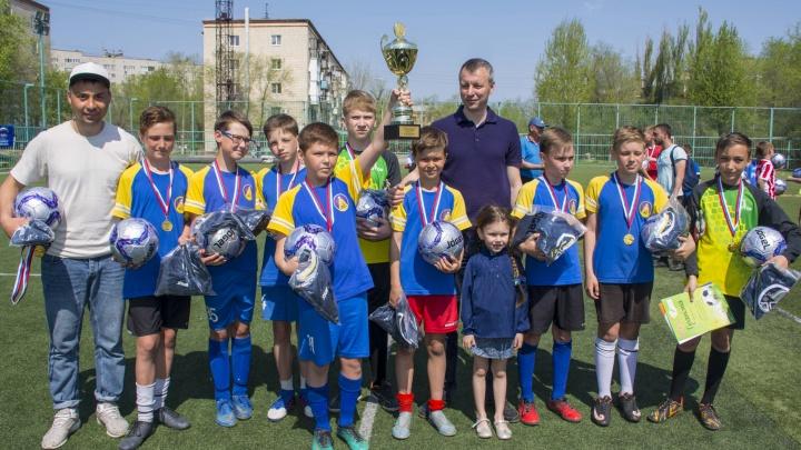 В Волгограде определились чемпионы Школьной футбольной лиги