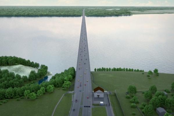 Автомобилисты смогут ехать по мосту со скоростью 120 километров в час