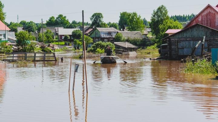 На юге и западе края возможны паводки: за три дня в Прикамье выльется 90% месячной нормы осадков