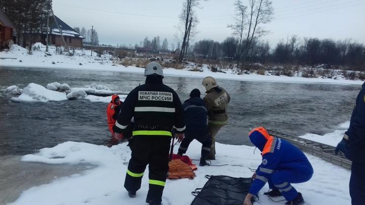 В Прикамье с островка посреди реки спасли 72-летнюю женщину