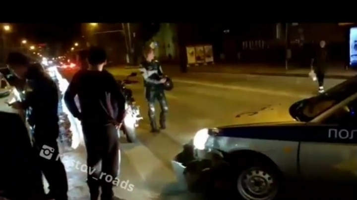 Куча-мала: на месте массовой аварии в Ростове экипаж ДПС сбил мотоциклиста