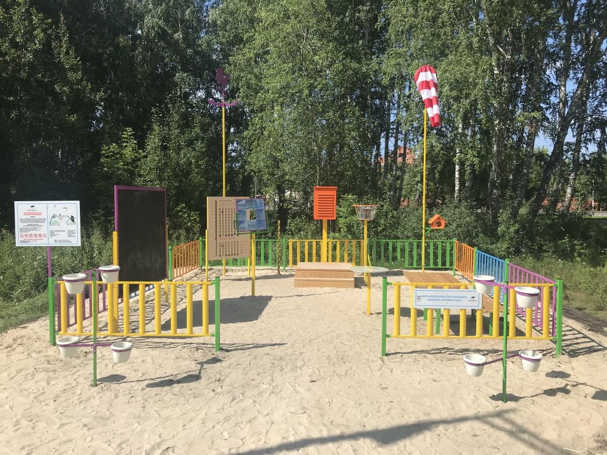 Изучать ветер и осадки: в Затюменском парке откроется метеостанция для детей