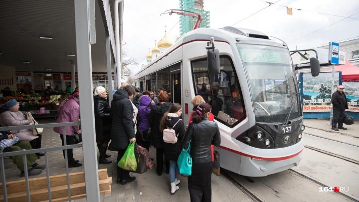 В Ростове движение трамваев по Станиславского откроют 10 ноября