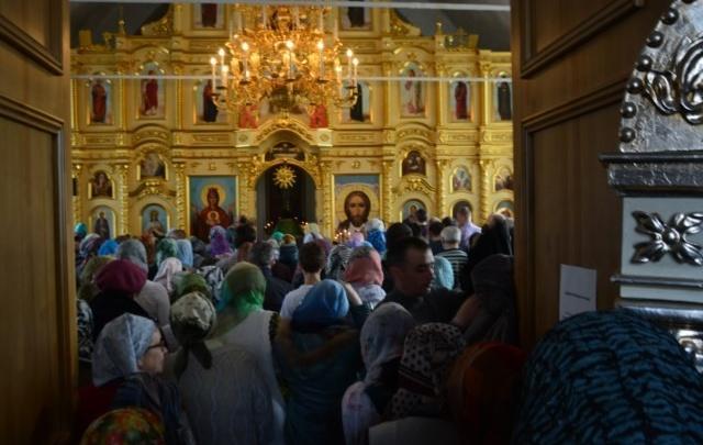 Уфимцы отметили Вербное воскресенье