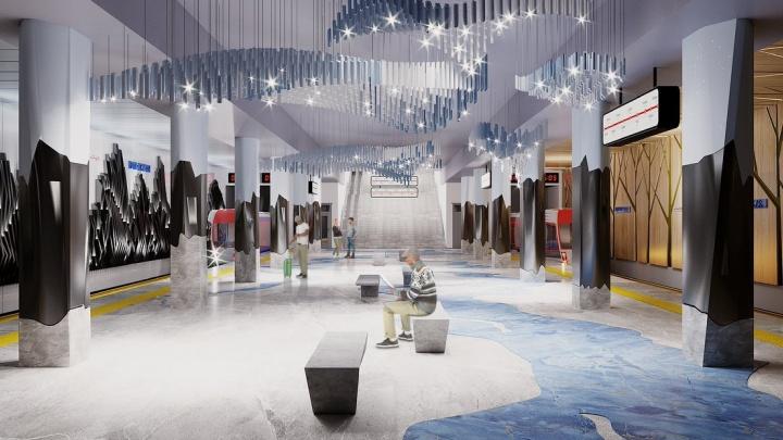 Самарский дизайнер разработала проект головокружительно красивой станции метро