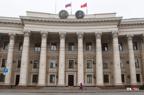 В здании Волгоградской областной думы задымилась проводка