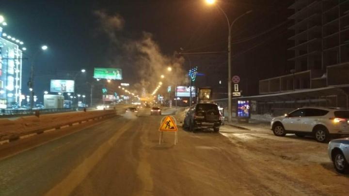 В ГИБДД рассказали подробности ночного ДТП напротив «Ройял Парка»: водитель «Мицубиси» был пьян