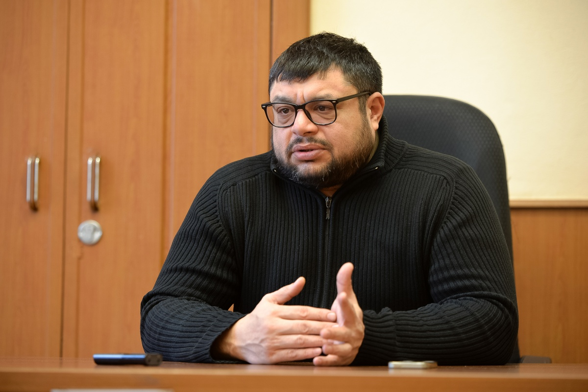 Глава Цыганской общины в Екатеринбурге Ян Сокол