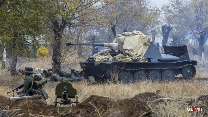 «Танки, пушки, пулемёты»: у Калача вновь покажут начало контрнаступления под Сталинградом